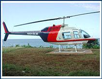 Helicopter - Paradise Vacations Transport Service Montego Bay, Jamaica - St. James PO # 2, Jamaica West Indies -  http://www.paradisevacationsjamaica.com; E-mail: paradisevacationsja@yahoo.com